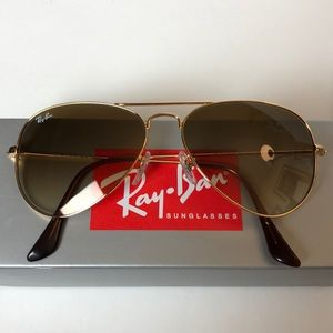 Ray-Ban Aviator Sunglasses Unisex